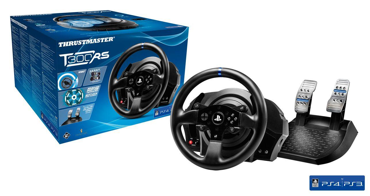 tisk volant thrustmaster t300 rs ps4 ps3 pc ps4. Black Bedroom Furniture Sets. Home Design Ideas
