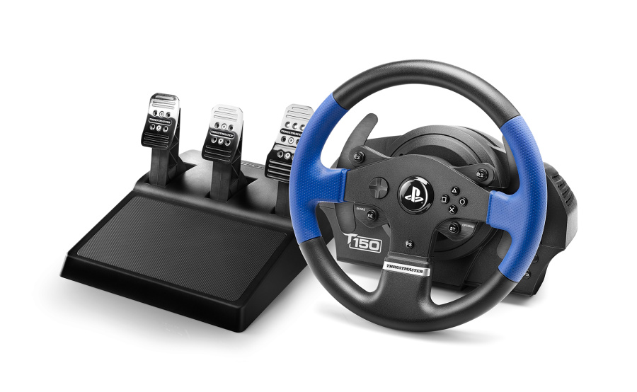 volant thrustmaster t150 rs pro 3 ped l t3pa ps4. Black Bedroom Furniture Sets. Home Design Ideas