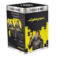 Puzzle Cyberpunk 2077 - Keyart Male V - 500ks (Good Loot)