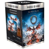 Puzzle Elder Scrolls: Skyrim - Elsweyr Vista, 1000 dílků (GOOD LOOT)