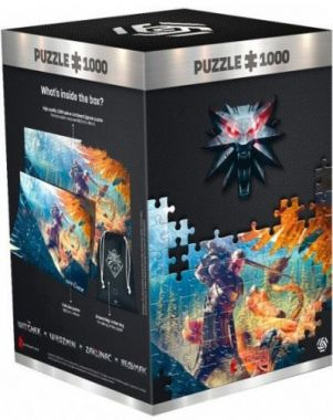 Puzzle The Witcher: Griffin Fight - 1000ks (Good Loot)