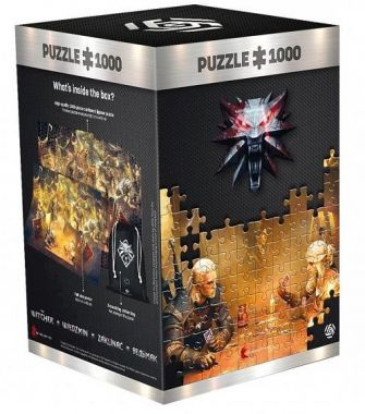 Puzzle The Witcher: Playing Gwent - 1000ks (GOOD LOOT)