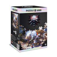 Puzzle Zaklínač - Geralt & Triss in Battle 1000 dílků (Good Loot)