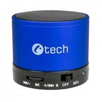 reproduktor C-TECH SPK-04L, bluetooth, modrý
