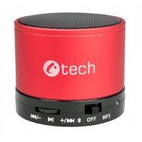 reproduktor C-TECH SPK-04R, bluetooth, červený
