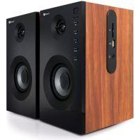 Reproduktory C-TECH SPK-550BT, dřevěné, Bluetooth, dálkové ovládání, 2.0 (PC)