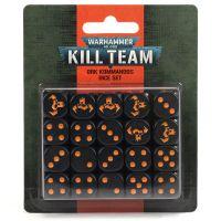Sada kostek Citadel 12mm - Ork Kommandos - 20ks