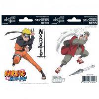 Samolepky Naruto Shippuden - Naruto/Jiraiya