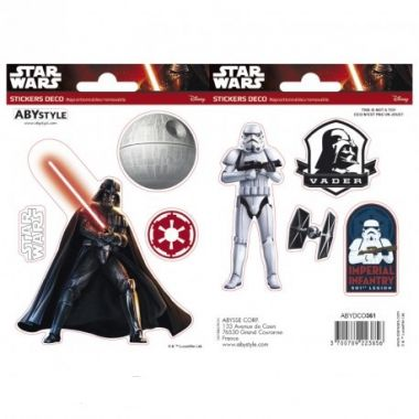 Samolepky Star Wars -  Vader/ Trooper