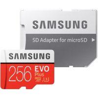 Samsung EVO Plus Micro SDXC 256GB HS-I U3 + adaptér MB-MC256HA/EU