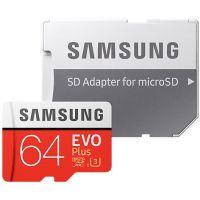 Samsung Micro SDXC EVO Plus 64GB UHS-I U3 + SD adaptér (MB-MC64GA/EU)
