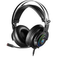 Sandberg herní sluchátka Dizruptor Headset USB 7.1 s mikrofonem, černá - 126-11 (PC)