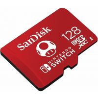 Sandisk Micro SDXC pro Nintendo Switch 128GB 100 MB/s UHS-I U3 (SDSQXAO-128G-GNCZN) (Switch)