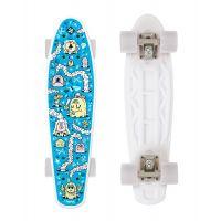 Skateboard FIZZ FUN BOARD Alarm Blue 2020