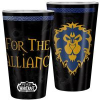 Sklenice World of Warcraft - For the Alliance (400 ml)