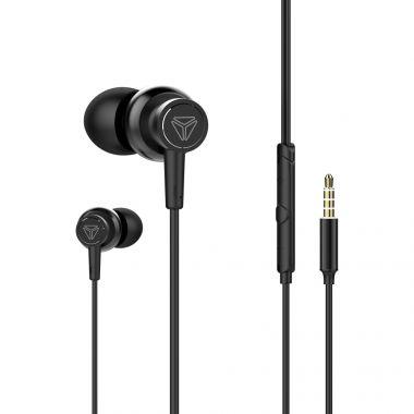 Sluchátka s mikrofonem do uší Yenkee YHP 205BK (PC)