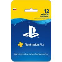 SONY PlayStation Plus Card 365 dní (PS3, PS4, PS5)