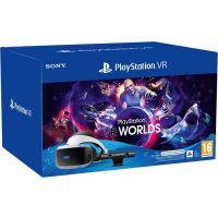 Sony PlayStation VR V2 + Kamera V2 + PS5 adaptér + VR Worlds (PS4)