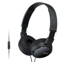 SONY sluchátka MDR-ZX110AP handsfree,černé