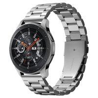 Spigen Kovový řemínek pro Samsung Galaxy Watch 46mm, stříbrný