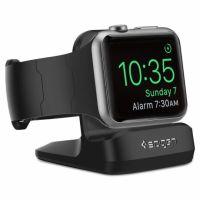 Spigen S350 Stojánek pro dobíjení pro Apple Watch, černý (SGP11584)