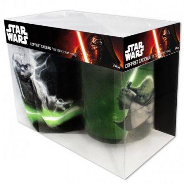 Star Wars - Yoda Pack M (Tričko + Hrníček)