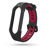 Tech-Protect náhradní náramek Armour pro Xiaomi mi band 5/6, černo červený