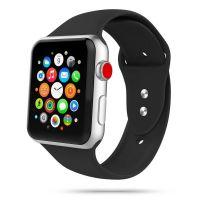 Tech-protect řemínek Iconband pro Apple Watch 42/44mm, černý