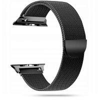 Tech-protect řemínek Milánský tah pro Apple Watch 42/44mm, černý