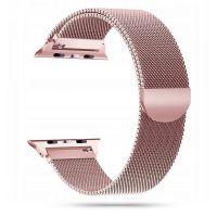Tech-protect řemínek Milánský tah pro Apple Watch 42/44mm, růžovo zlatá
