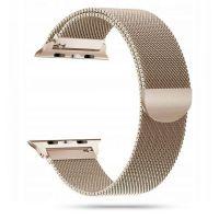 Tech-protect řemínek Milánský tah pro Apple Watch 42/44mm, zlatý