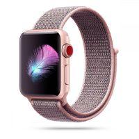 Tech-protect řemínek Nylon pro Apple Watch 38/40mm, růžová