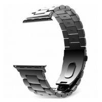 Tech-Protect Stainless ocelový řemínek pro Apple Watch 2/3/4/5/6/SE (42/44mm), Black