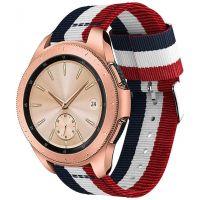 Tech-protect WELLING řemínek pro Samsung Galaxy Watch 46mm, NAVY/RED