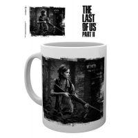 Hrnek The Last of Us 2, černo/bílý