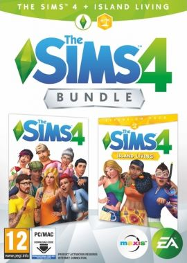 The Sims 4 + The Sims 4: Život na ostrově (PC)