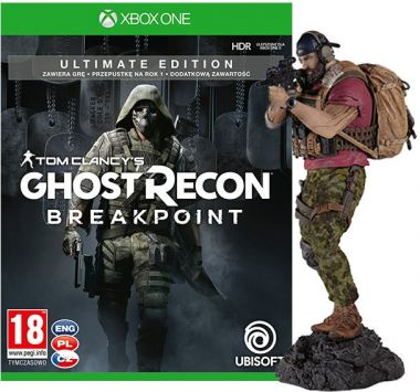 Tom Clancys Ghost Recon: Breakpoint - Ultimate Edition + Figurka Nomad (Xbox One)