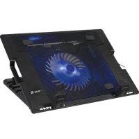 Tracer ICESTORM 17 černá / chladící podložka pro 17 notebook / 2xUSB 2.0 / 1x 125 mm ventilátor / nastavitelný úhel (TRASTA46338) (PC)