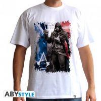 Tričko Assassins Creed AC5 - Flag - vel. S