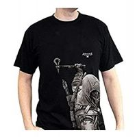 Tričko Assassins Creed III Connor, černé, vel. L