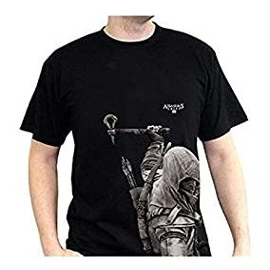 Tričko Assassins Creed III Connor - vel. M, černé
