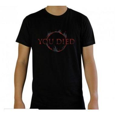 Tričko Dark Souls - You Died,, černé, vel. S
