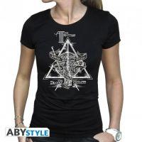 Tričko Harry Potter - Deathly Hallows vel. XL