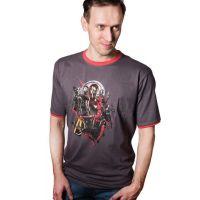 Tričko Marvel Infinity War - Avengers vel.XL, hnědé