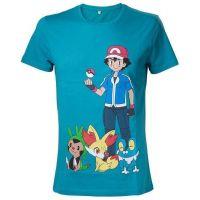 Tričko Pokémon Zelené vel. S (GOOD LOOT)
