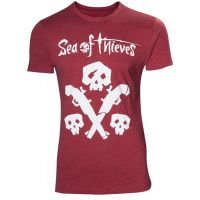 Tričko Sea of Thieves - Skulls and Pistols - vel. M