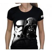 Tričko Star Wars Vador-Troopers - vel. S