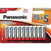 Tužkové Alkalická baterie PANASONIC Pro Power LR6 15+5ks