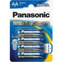 Tužkové alkalické Baterie Panasonic LR6 4BP AA Evolta alk