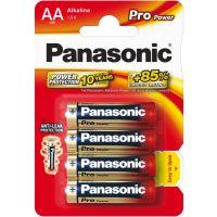 Tužkové Baterie Panasonic LR6 4BP AA Pro Power alk